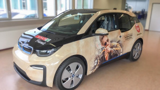 BMW i3 Car Wrapping Bigler AG