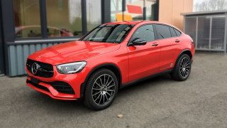 Car Wrapping Vollfolierung Mercedes