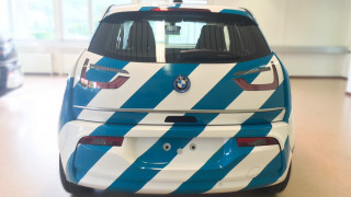 BMW i3 Car Wrapping Heck Fisherman's Friend